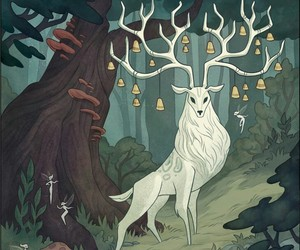beautiful, drawings, and forest image