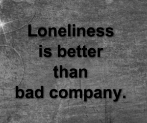 quotes, loneliness, and alone image