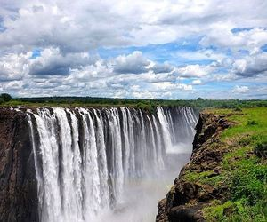 africa, victoria, and waterfall image