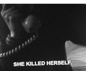 depressed and she killed herself image