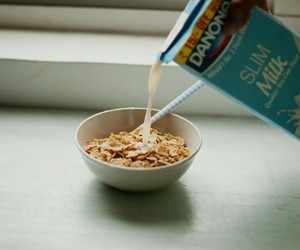 vintage, breakfast, and cereal image