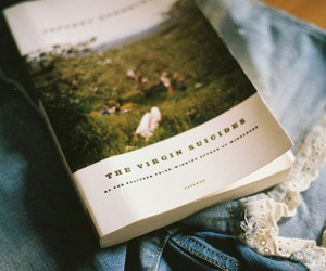 book, vintage, and the virgin suicides image