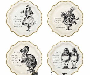 charmingpartystudio, alice in wonderland, and partysupplies image