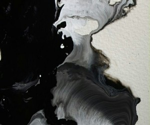 art, black, and white image