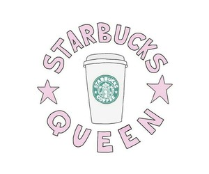starbucks, Queen, and transparent image