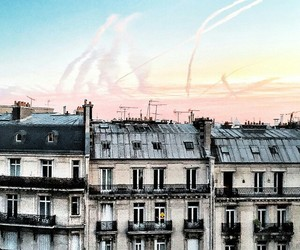 sky, city, and tumblr image