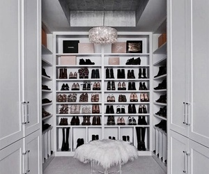 closet, shoes, and style image