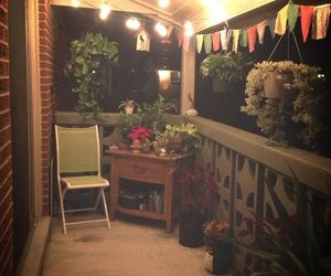 balcony, decorations, and home image