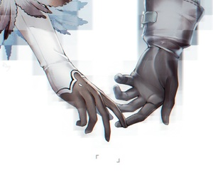 nier automata, anime, and hands image
