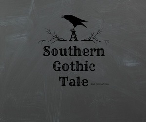 art, books, and southern gothic image