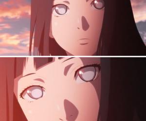 anime, naruto, and hinata hyuga image
