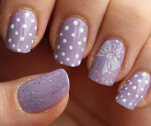 adorable, lilac, and nails image
