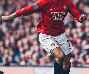 cristiano, football, and manchester united image