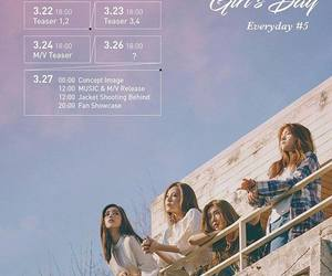 comeback, teaser image, and girl's day image