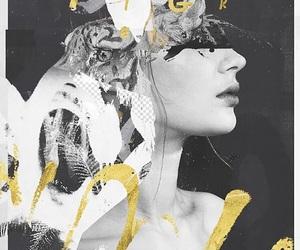 black&white, Collage, and design image