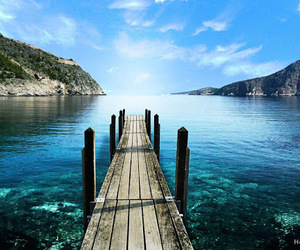 landscape, sea, and water image