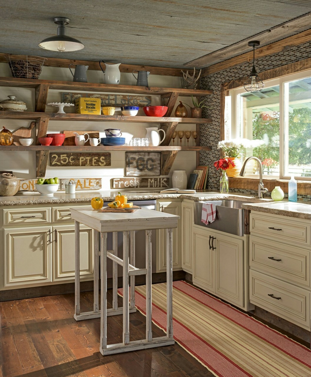 Кухня на дачу в картинках