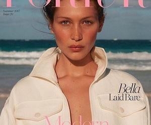 bella hadid, model, and magazine image