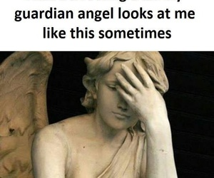 angel, relatable, and disappointment image