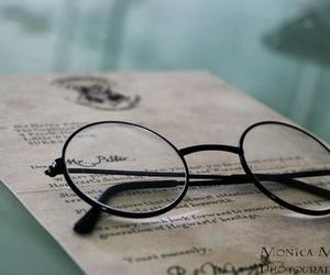 harry potter, hogwarts, and glasses image