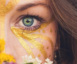 aesthetic, colors, and eye image