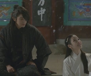 moon lovers, couple, and drama image