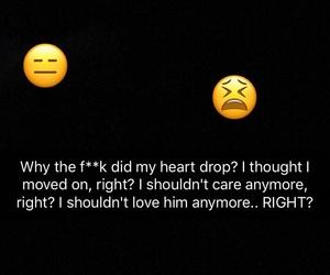annoyed, break up, and broken image