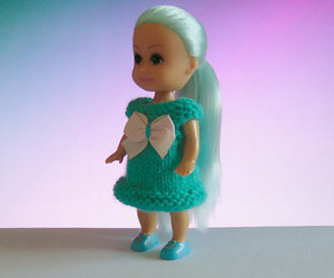doll clothes, dress, and etsy image