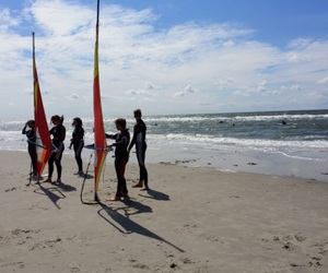 surfing, summer 2015, and st. peter ording image