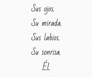 love, el, and frases image