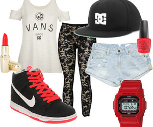 nike, clothes, and vans image