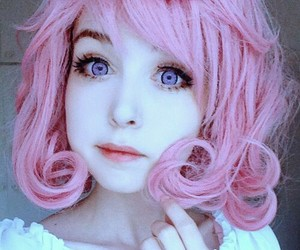 anzujaamu, cosplay, and pink hair image