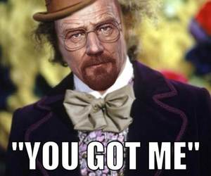breaking bad, charlie and the chocolate factory, and Gene Wilder image