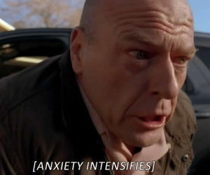 anxiety, breaking bad, and funny image