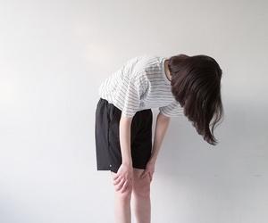 boho, brunette, and korean girl image
