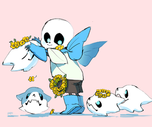 adorable, blue, and fan art image