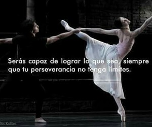 amor, danza, and frases image
