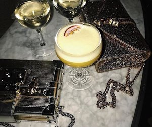 fashion, drink, and luxury image