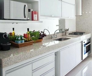 decoration, apartment, and kitchen image