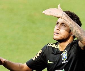 brazil, football, and footballer image
