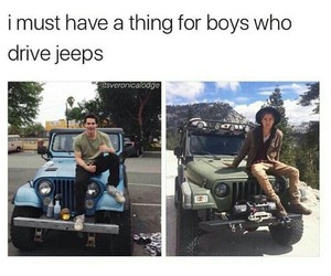 jeep, cole sprouse, and teen wolf image