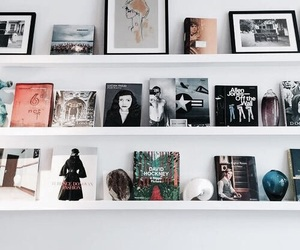 books, decorate, and frames image