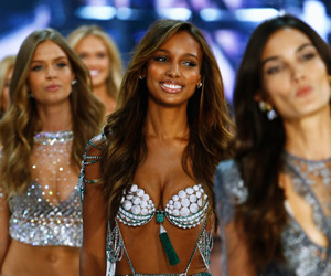 jasmine tookes and Victoria's Secret image