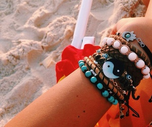 beach, boho, and hippie image