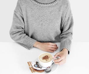 clothes, clothing, and coffee image