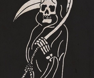 death, grim reaper, and beartooth image