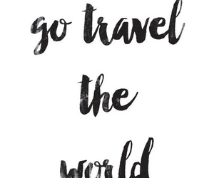 quotes, travel, and wanderlust image