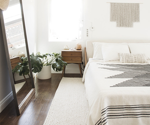 bedroom, interior, and style image