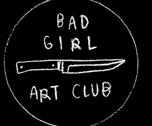bad girl, grunge, and art image