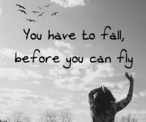 before, quotes, and fall image